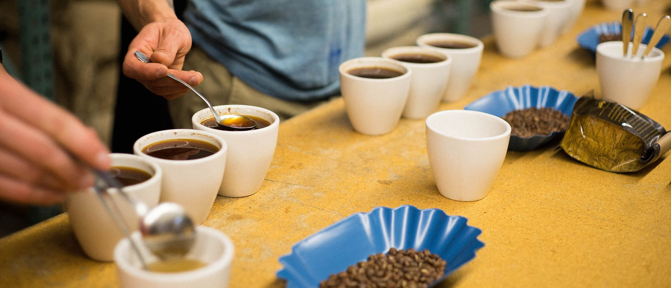 Cupping Coffee, Coava Coffee Roasters